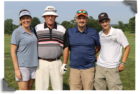 Participants in the Medical Excellence Golf Tournament